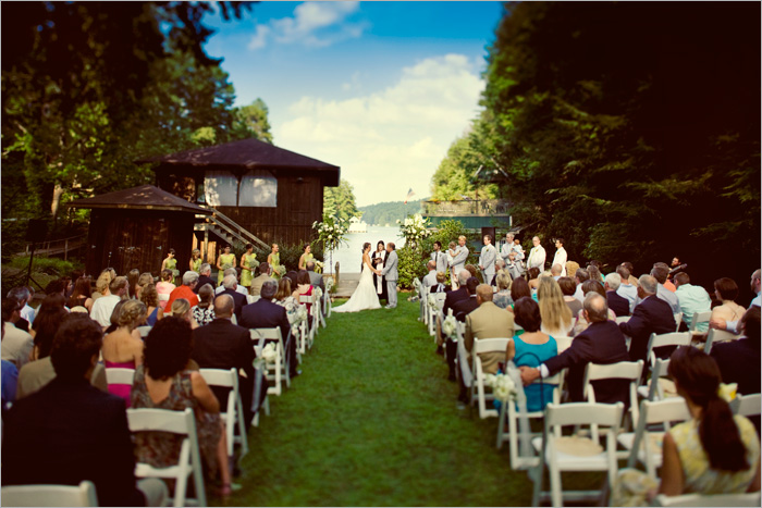 Lake rabun ga wedding